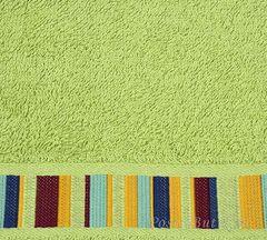 Полотенце 100х150 Caleffi Yupi зеленое
