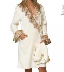 Элитный халат махровый Lanca от Timas