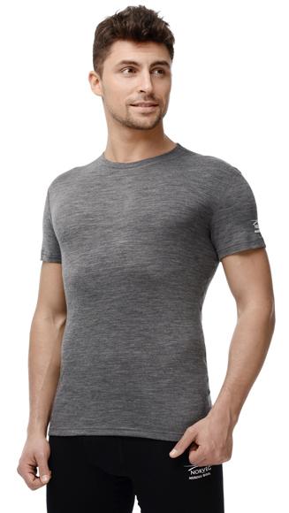 Термофутболка Norveg Soft T-shirt мужская с коротким рукавом