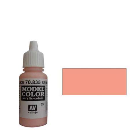 037. Краска Model Color Лосось 835 (Salmon Rose) укрывистый, 17мл