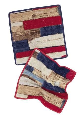 Элитная салфетка шенилловая Vintage Wood 221 marine от Feiler