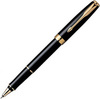 Купить Ручка-роллер Parker Sonnet T530, цвет: LaqBlack GT, стержень: Fblack,  S0808720 по доступной цене