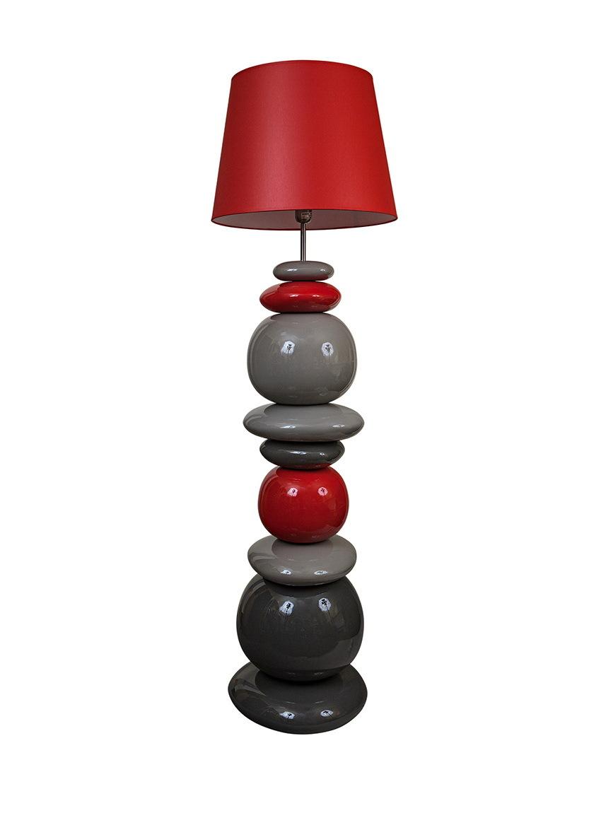 Элитная лампа напольная Baloes coloridos красная от Sporvil