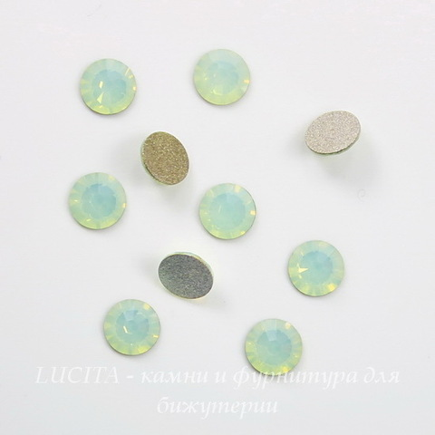 2028/2058 Стразы Сваровски холодной фиксации Chrysolite Opal ss12 (3,0-3,2 мм), 10 штук ()