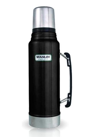 Термос Stanley Legendary Classic Vacuum Flask Black (1  литр) черный