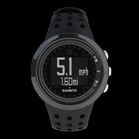 Купить Наручные часы Suunto M5 All black SS018260000 по доступной цене