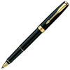 Купить Ручка-роллер Parker Sonnet T528, цвет: MattBlack GT, стержень: Fblack, S0817970 по доступной цене