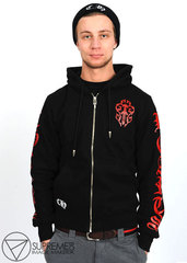 Толстовка Chrome Hearts red