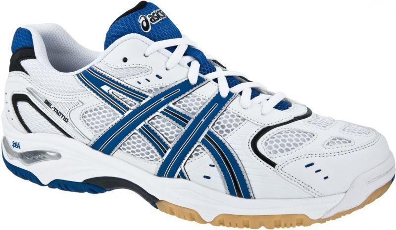 Asics Gel-Tactic Кроссовки волейбольные мужские White/blue