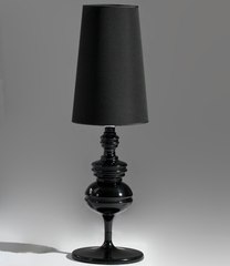 лампа jaime hayon josephine table lamp black 75 cm