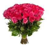 Розовые розы/ 70 - 80 см