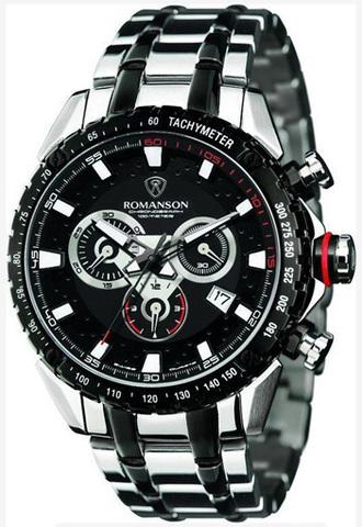 Купить Наручные часы Romanson AM1210HMDBK по доступной цене