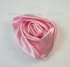 Роза атласная розовая 50 мм
