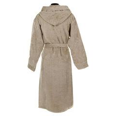 Элитный халат махровый Basic с капюшоном бежевый от Roberto Cavalli