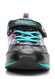 Кроссовки Монстер Хай (Monster High) на липучке для девочек, цвет черный. Изображение 5 из 8.