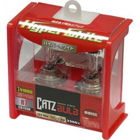 Газонаполненные лампы CATZ H7 CB703N (3300К)