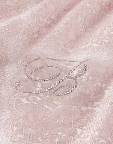 Покрывало 270х270 Blumarine Lafayette розовое