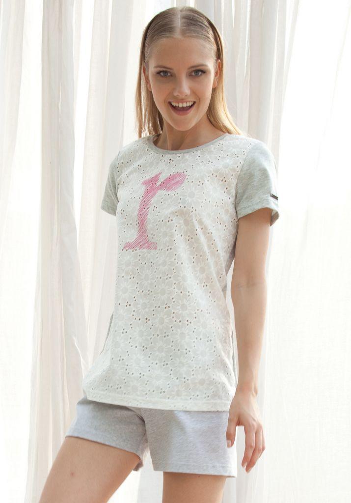 Домашний комплект с шортами Rebecca & Bros