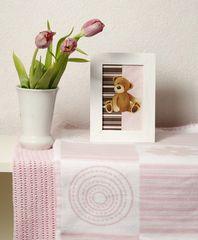 Элитный комплект из двух пледов детских lux 2287 розовый от Luxberry