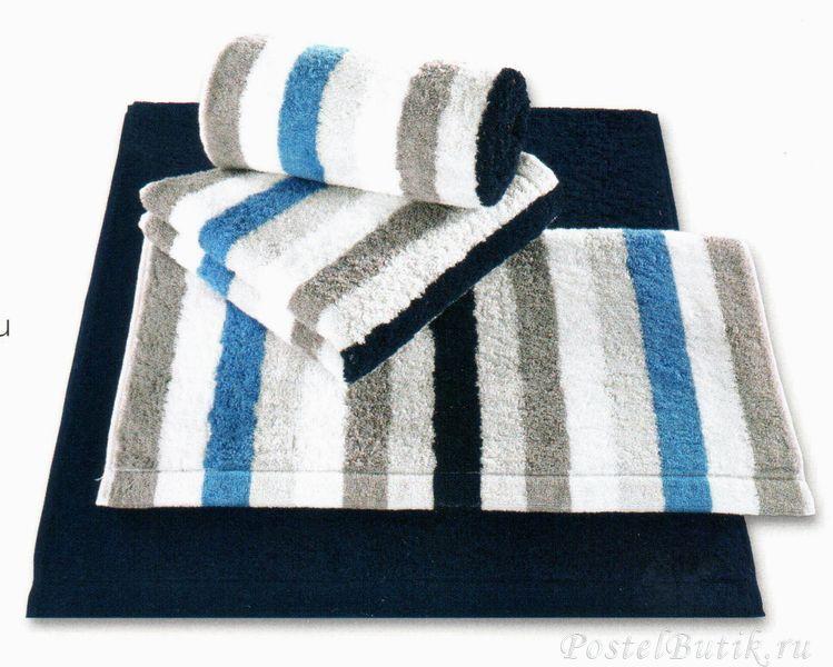 Полотенце 50x100 Cawo Life Style 7052 Sport Streifen синее