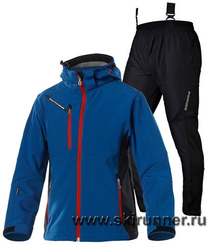 Детский лыжный костюм 8848 Altitude Apex Dust Blue Noname Active