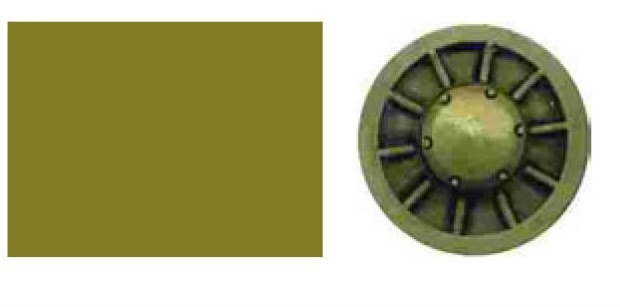 Краска тонирующая Wash Dark Green
