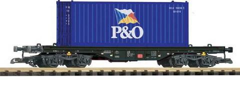 Piko 37705 Платформа с контейнером P&O, G