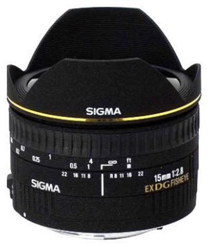Sigma AF 15mm f/2.8 EX DG Diagonal Nikon