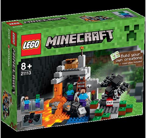 Лего Майнкрафт Пещера