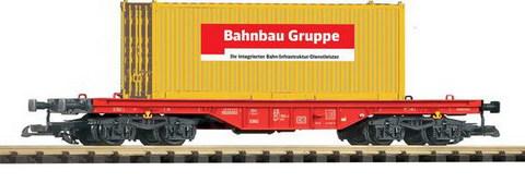 Piko 37706 Платформа с контейнером «Bahnbau Gruppe», G