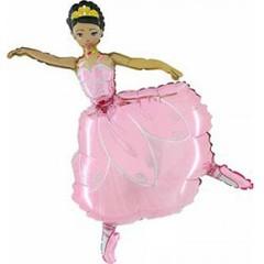 Балерина фольгированная