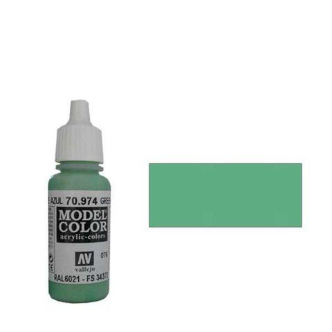 076. Краска Model Color Теленоватый Небесный 974(Green Sky) укрывистый, 17мл