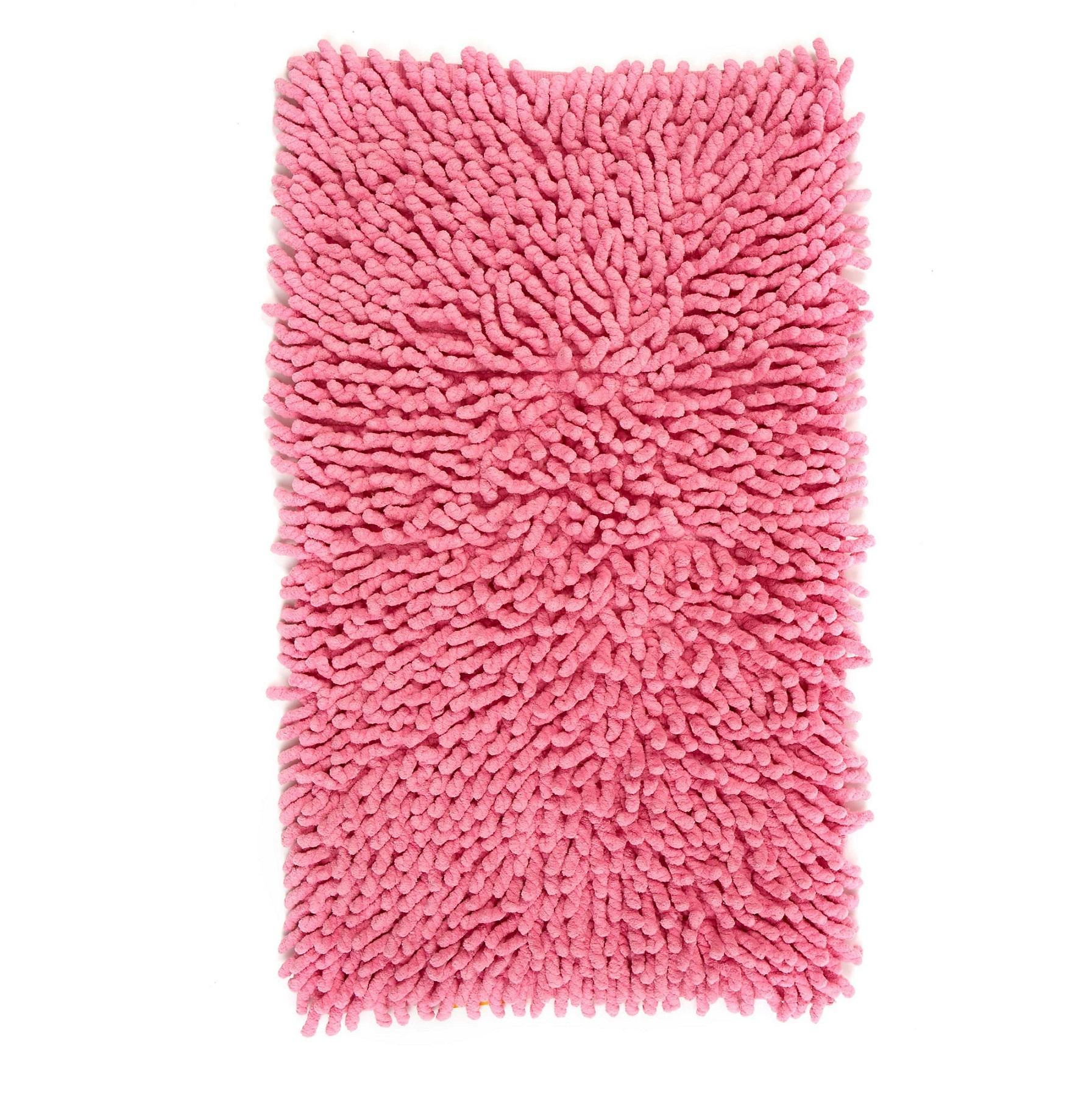 Коврики для ванной Коврик для ванной 51x81 Kassatex Basics Pink elitnyy-kovrik-dlya-vannoy-basics-pink-ot-kassatex-portugaliya.jpg