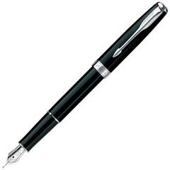 Перьевая ручка Parker Sonnet F530, цвет: LaqBlack СT, перо: F, перо: золото 18К, S0808810