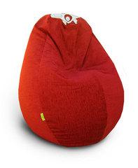 Кресло груша Бордовое