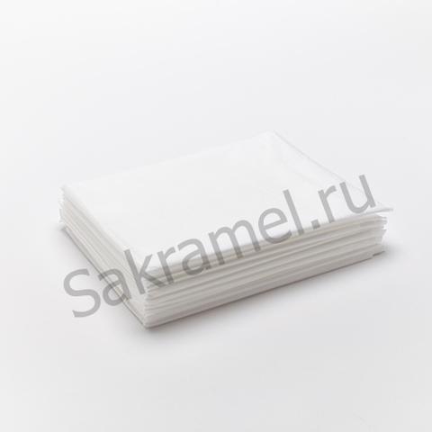 Простыня SMS люкс (SMS, белый, 200х80 см, 20 шт/упк, штучно)
