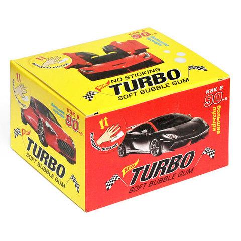 Жвачка Turbo (блок 20 шт.)