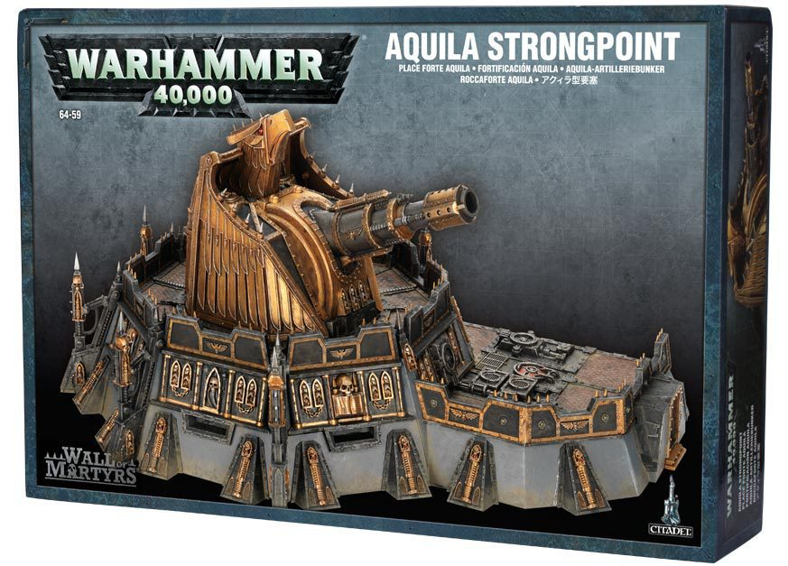 Wall of Martyrs - Aquila Strongpoint