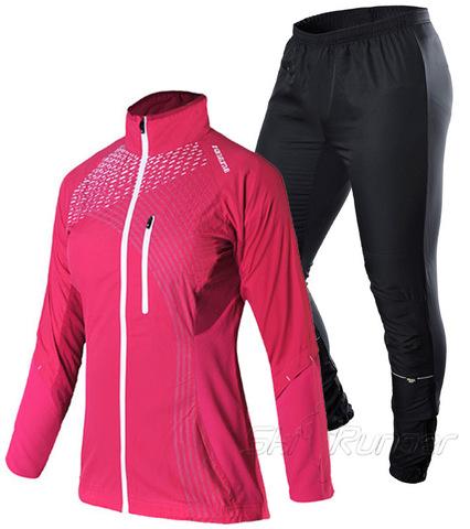 Женский элитный беговой костюм Noname Pro Running Pink 2015