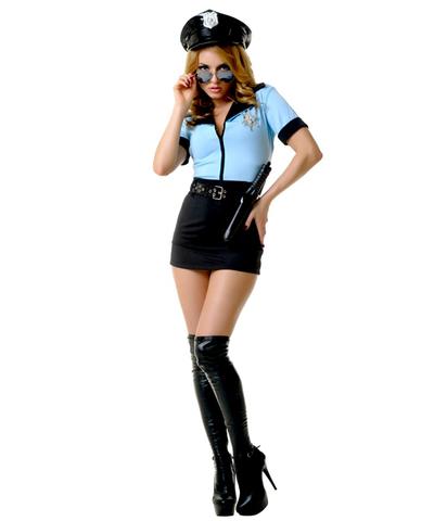 Игровой костюм Полицейского женский
