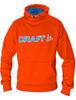 Толстовка Craft Flex Hood мужская orange