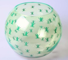 Царевна-Лягушка-2071 Ваза шаровая 7,5л