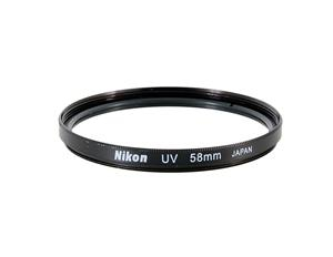 Светофильтр Nikon UV 55mm (Ультрафиолетовый защитный УФ фильтр для фотоаппаратов и объективов Никон с диаметром резьбы 55 мм)