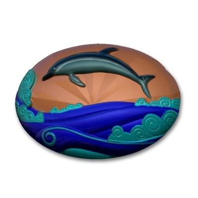 Дельфин 2 Форма для мыла