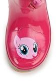 Резиновые сапоги Пони (My little Pony) утепленные на шнурках для девочек, цвет розовый. Изображение 6 из 7.