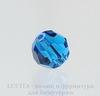 5000 Бусина - шарик с огранкой Сваровски Capri Blue 8 мм ()