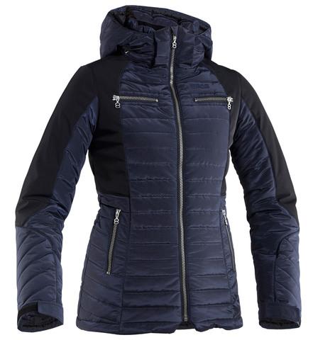 Женская горнолыжная куртка 8848 Altitude Charlie черная (668174)