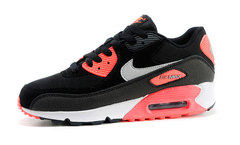 Кроссовки Женские Nike Air Max 90 ES Black Coral White