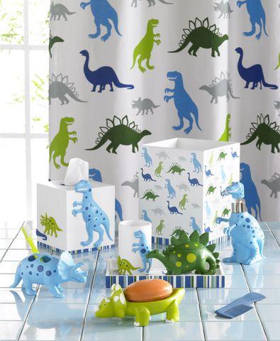 Элитная шторка для ванной детская Dino Park от Kassatex