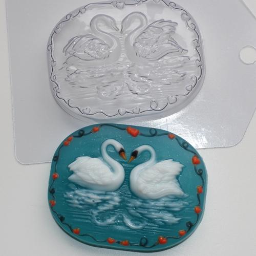 Лебеди Форма для мыла